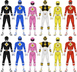 Mighty Morphin Power Rangers: The Movie, pt 1 by Taiko554