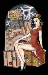 Tower of Terror Pinup by JMKohrs