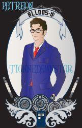 Paging Doctor Tennant by TionneDawnstar
