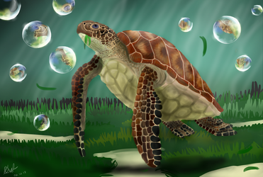 .:Turtley Awesome:. by matrix9000