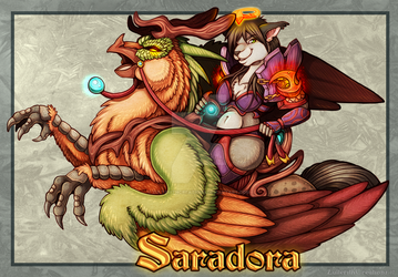 Saradora Mount Badge Giveaway by ZulterithCreations
