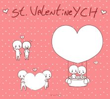 St. Valentine YCH!! [Open] by Shiemi-Hime