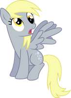 Derpy: Oh! by SilverVectors
