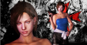XPS: Resident Evil  - Jill Valentine RE3 by Peonage