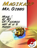 PokePets - 01 Mr. Gibbs by Flooboo