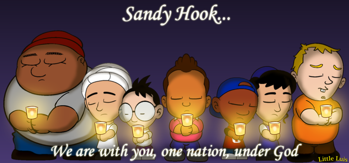Little Luis - Sandy Hook Tribute by vannickArtz