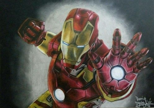 Iron Man by Eurynome1