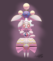 Magearna and Jumpluff