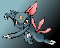 Sneasel by EMShelley