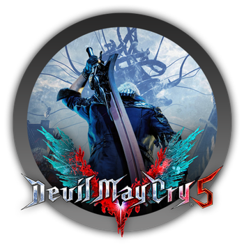 Devil May Cry 5 - Icon by Blagoicons