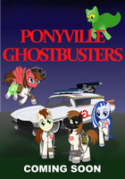Commission: Ponyville Ghostbusters Poster - Ver3 by meganschmidt