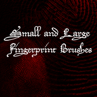 Fingerprint Brushes for GIMP by Shift-ing