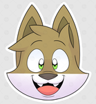 Sticker batch #1 01/10 - Pucho's Smile by Tomthebaker