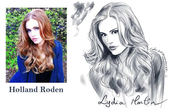 Lydia Martin - Holland Roden by Cofie