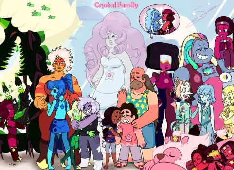 Crystal Family by tejedora