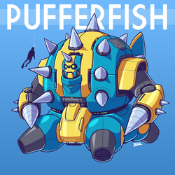 PAYLOAD: The Pufferfish by Blazbaros
