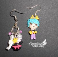 Magica Emy Earrings by AyumiDesign