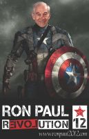 Captain Ron Paul of America by IntelligentDsigns