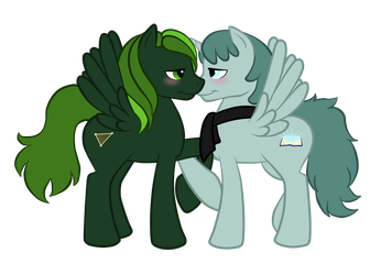 A Pair of Ponies by Shrineheart