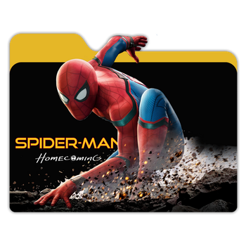 Spiderman Homecoming Folder by janosch500