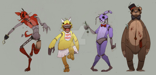 Five Nights at Freddy's by Ashlmet