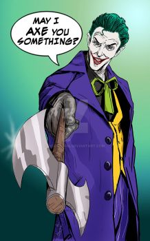 The Joker - clown prince of crime by mrinal-rai