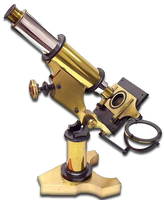 Steampunk Microscope Search Icon MkIV by yereverluvinuncleber