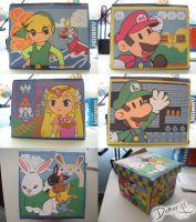 Zelda + Mario Box by LnknPrk7Snoopy