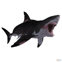 The Depth - Great White Shark (Battle Scars) by MrUncleBingo