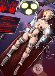 Birth of a Fembot 2/3 (commission) by Re-Maker