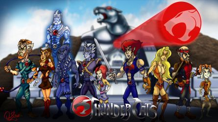 Thundercats by TheOhToons