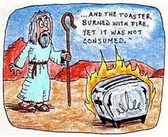 Biblical Toasters 1 by handheadman