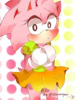 Classic Amy The Rose by yioyio