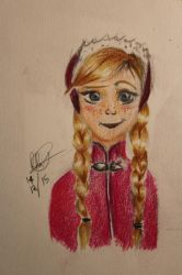 Another Anna drawing by RussRamos