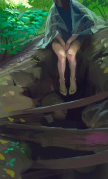 Forest study by sketcheth