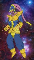 What if? Buu (Thanos absorbed) by Cheetah-King