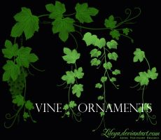 Vine Ornaments by Lileya