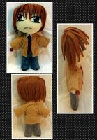 Con Plush 9 - Light Yagami DeathNote Plushie by mihijime