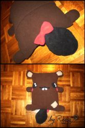 beaver pillow cover by reesq