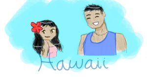 USA Gang - Hawaii by Andi-the-Duke