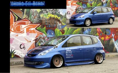 Honda Fit by MoncefFaik