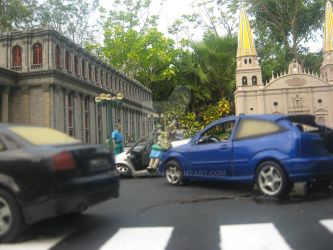 Miniature Car Crash in Mexico by SparkleARo