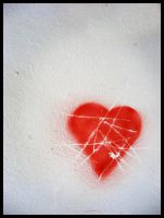 Heart Graffiti by MirceAdrian