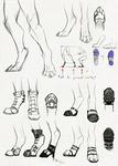 Shoes for people on the digitigrade spectrum by Remarin