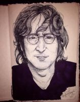 My John Drawing Yo by GabbyIsEvil