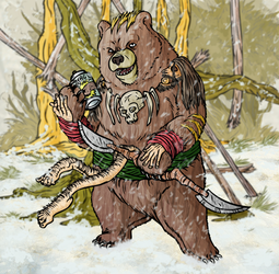 BSB Bear Token Art by Xebeckle-il-Ziluf
