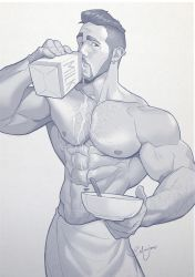 Hunk of the week #09 by silverjow