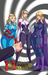 Blonde Heroes Hypnotized  by OmegaCataclysm