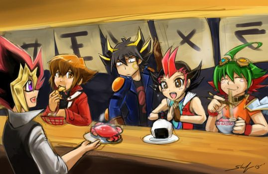 Yugioh Ramen by slifertheskydragon