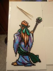 Perler Beads Kazim from Shining Force 2 by Valijka